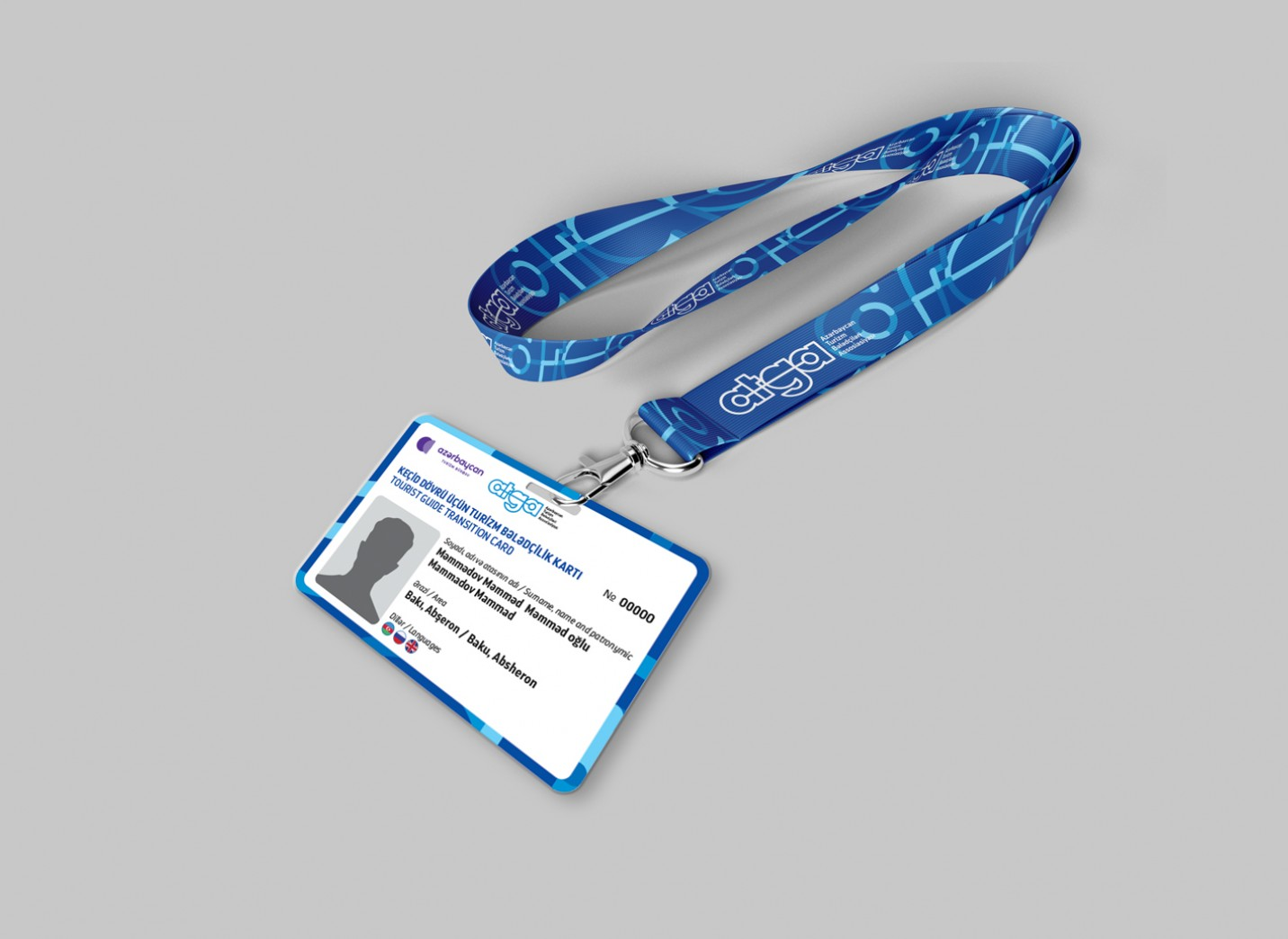 New tourist guide badges were delivered to guides