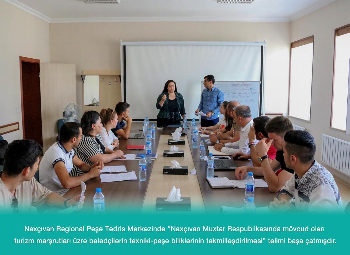 Naxçıvan Muxtar Respublikasında tematik marşrutlar üzrə turizm bələdçilərinin təlimi